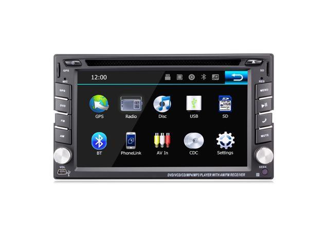 6 2 Double Din Car Stereo Car Gps Navigation Ehotchpotch Car
