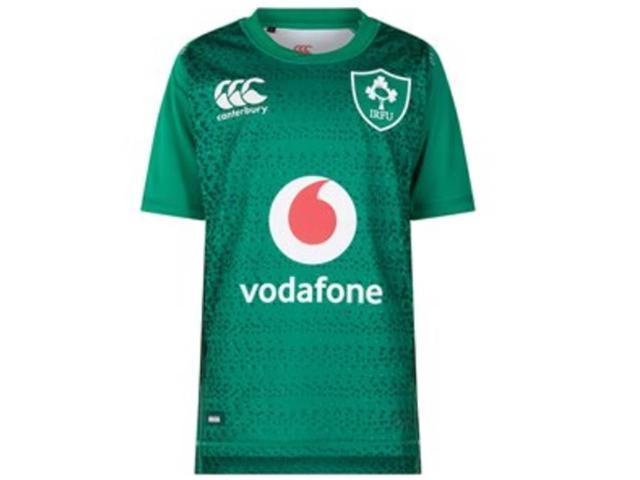 hot sale online b27a0 8d4b2 2018-2019 Ireland Home SS Classic Rugby Shirt - Newegg.com
