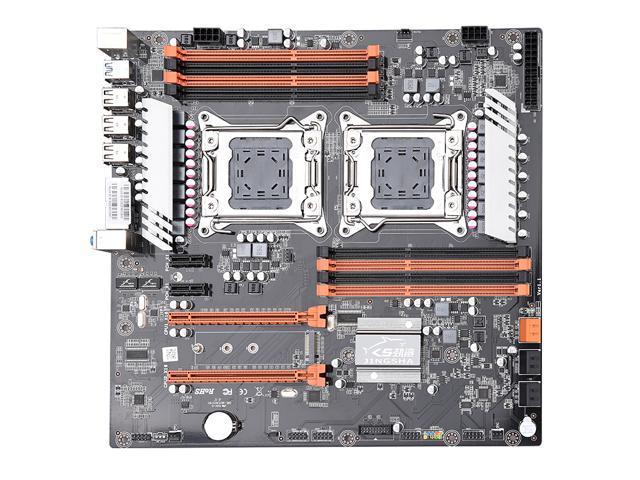 Jingsha X79 Dual CPU Motherboard Intel Xeon LGA 2011 E5 V2 WS Workstation  Motherboard - Newegg com