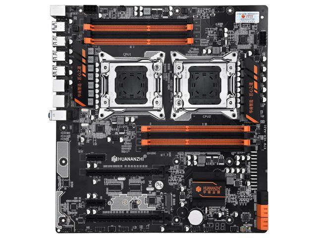 HUANANZHI X79 Dual Intel Xeon CPU LGA 2011 Sever Motherboard
