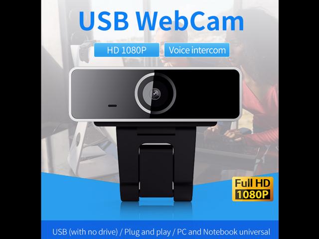 NPC-166N2D FULL HD 1080P Webcam USB Webcam Built-in 48dB ...
