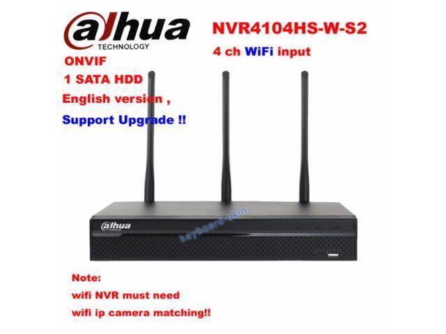 Dahua NVR4104HS-W-S2 4 Channel Compact 1U WiFi Network Video Recorder Up to  5MP - Newegg com