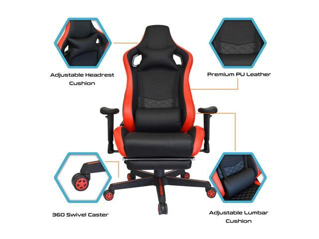 Amazing Gaming Office Chair Game Racing Ergonomic Backrest And Seat Machost Co Dining Chair Design Ideas Machostcouk