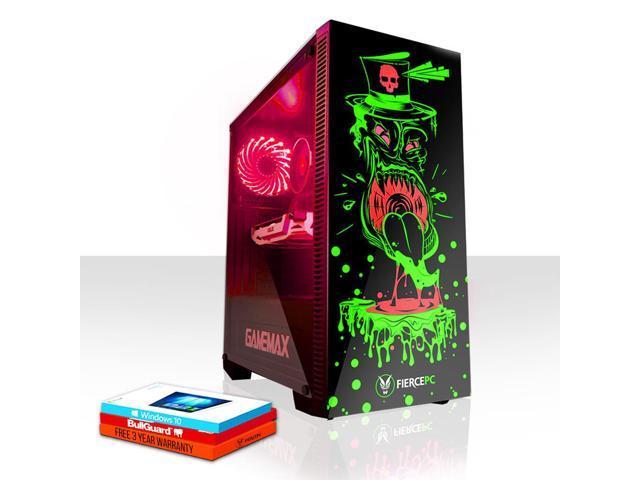 Fierce GOBBLER Gaming PC, Fast Intel Core i7 8700K 4 5GHz, 2TB HDD, 16GB  RAM, GTX 1060 6GB, Windows 10 Installed (871881) - Newegg com