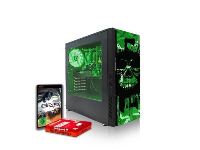 Fierce EXILE Gaming PC, Fast AMD FX-8370 4 3GHz, 1TB HDD, 8GB RAM, GTX 1650  4GB, Windows 10 Compatible (430213) - Newegg com