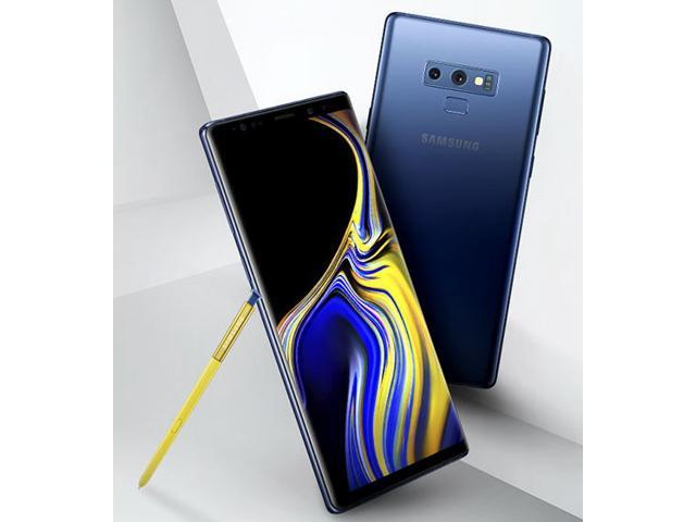 Samsung Galaxy Note 9 SM-N9600 512GB Ocean Blue, GSM Unlocked International  Version No Verizon Or Sprint Only GSM Carriers - Newegg com