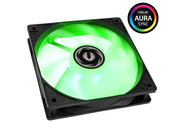 Bitfenix, 120mm Spectre Addressable RGB Led, Computer Case Cooling Fan,  with TriBright LED Technology, and ASUS AURA SYNC Ready, Silent