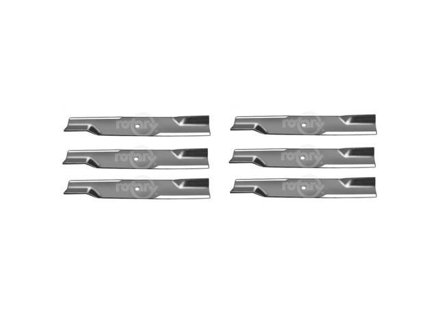 6 Pack High-Lift Lawn Mower Blades Fits Hustler 602771 - Newegg com