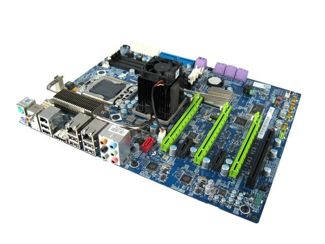 Dell J560M MS-7543 Alienware Area 51 Intel X58 i7 OEM ATX Motherboard -  Newegg com