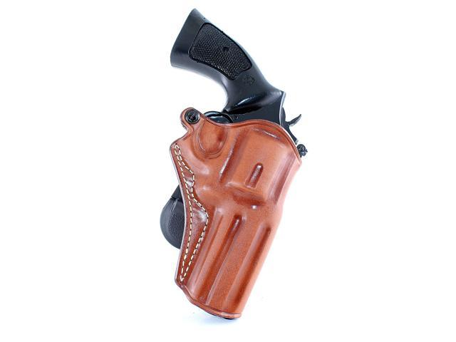 Masc Leather Paddle Holster Fits S&W K- Frame Revolver 4''Barrel, Right  Hand Draw, Brown Color #1057# - Newegg com