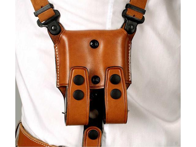 Masc Premium Leather Shoulder Holster with Double Carrier Fits Sarsilmaz  ST9 - 9/40/45-4 5'' Barrel, Right-Hand Draw, Brown Color #1181# - Newegg com