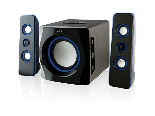 Ilive Portable Wireless Speaker System With Built In Subwoofer 7 28 X 8 86 X 7 28 Inches Black Ihb23b Newegg Com