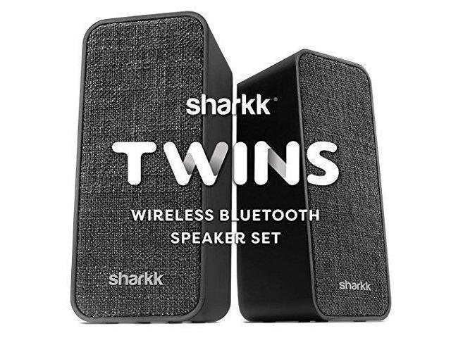 Speaker Set Portable Bluetooth 4 2 Stereo Wireless 30ft Transmission Range By Sharkk Newegg Com