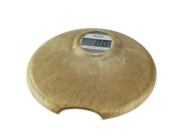 American Weigh Scales 396TERA Faux Marble Digital Personal Bathroom Scale  with Battery, Brown, 1 8 Pound - Newegg com