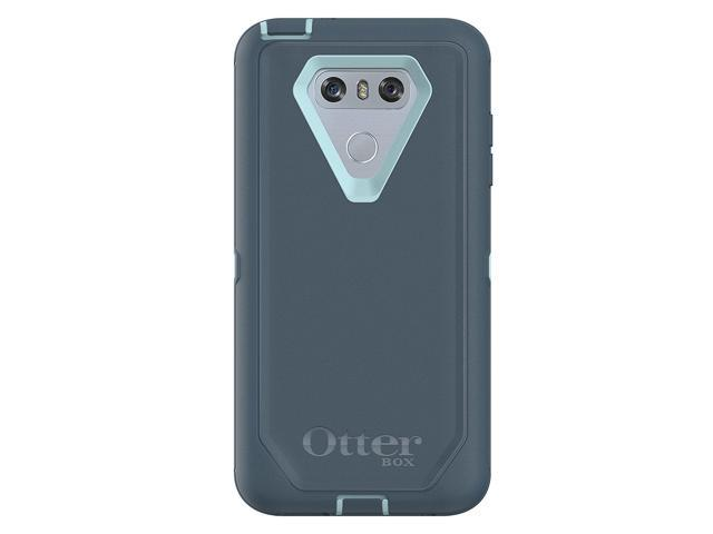 new product a64c0 3674b OtterBox Defender Series Case for LG G6 - Frustration Free Packaging - Moon  River (Bahama Blue/Tempest Blue) - Newegg.com