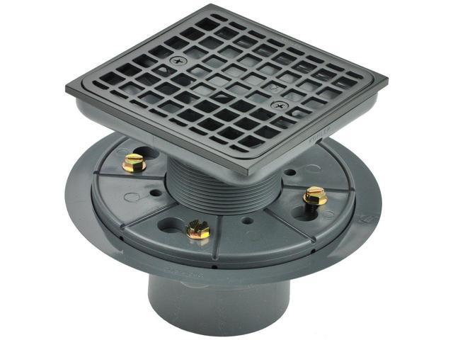 Oil Rubbed Bronze Shower Drain.Kohler K 9136 2bz Tile In Square Shower Drain Oil Rubbed Bronze Newegg Com