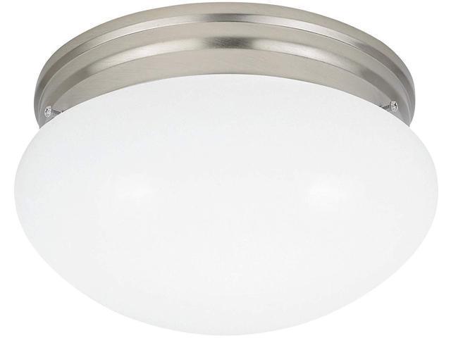 Sea Gull Lighting 44236 962 2 Light Brushed Nickel: Sea Gull Lighting 5328EN3-962 Two Light Ceiling Flush