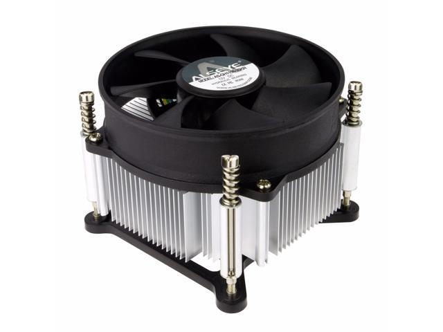 Intel Core i3 / i5 / i7 Socket 1156 / 1155 / 1151 / 1150 4-Pin Connector  CPU Cooler With Aluminum Heatsink & 3 5-Inch Fan With Pre-Applied Thermal