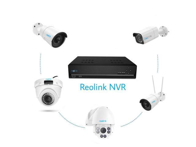 Reolink PoE NVR 8 Channel Home Security Camera System Video Recorder with  2TB HDD Support 720p/1080p/4MP/5MP HD PoE Camera RLN8-410 - Newegg com