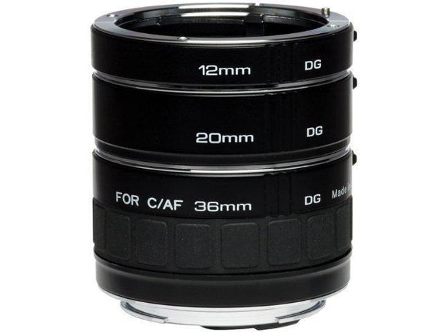 Kenko DG Auto Extension Tube Set for the Canon EOS AF Mount.