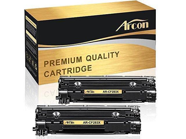 Arcon 2 Packs High Yield 83X CF283X (83A CF283A) Compatible for HP 83X  CF283X M127fn Toner Cartridge Replacement for HP Laserjet PRO MFP M201dw  M127fn