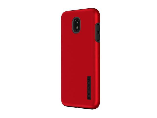 uk availability 230e9 f1f39 Incipio DualPro Samsung Galaxy J7 (2018) Case Shock-Absorbing Inner Core &  Protective Outer Shell Samsung Galaxy J7 (2018) - Iridescent Red/Black - ...