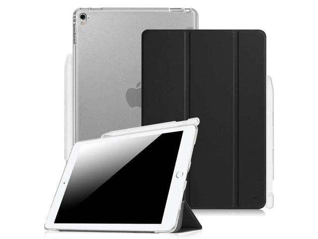 reputable site 6d9c4 4e66a Fintie iPad Pro 9.7 Case with Built-in Apple Pencil Holder - Slim Shell  Standing Cover with Translucent Frosted Back Protector Auto Wake/Sleep for  ...