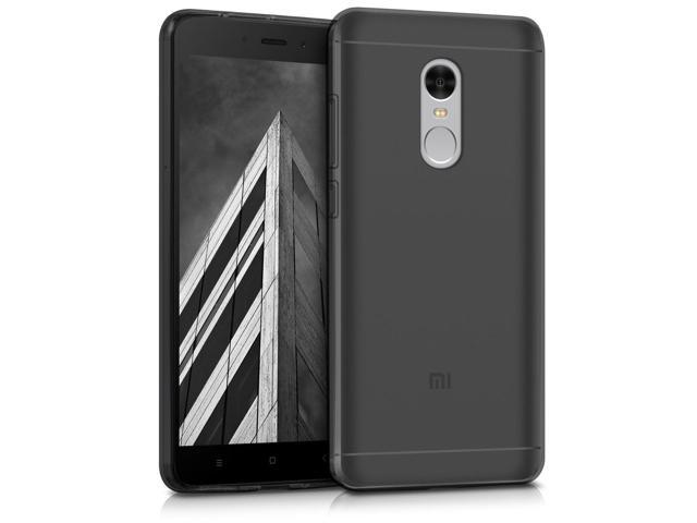 cheaper eaec5 b965a kwmobile Crystal Case for Xiaomi Redmi Note 4 / Note 4X - Soft Flexible TPU  Silicone Protective Cover - Black - Newegg.com