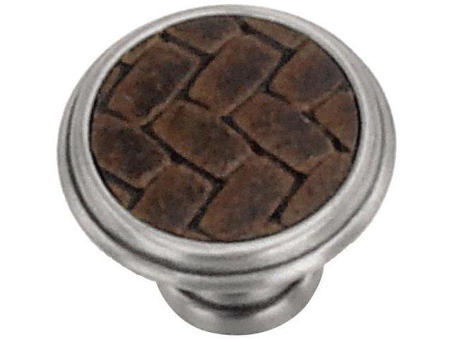 Laurey 12090 Cabinet Hardware 1-1/8-Inch Round Knob, Satin
