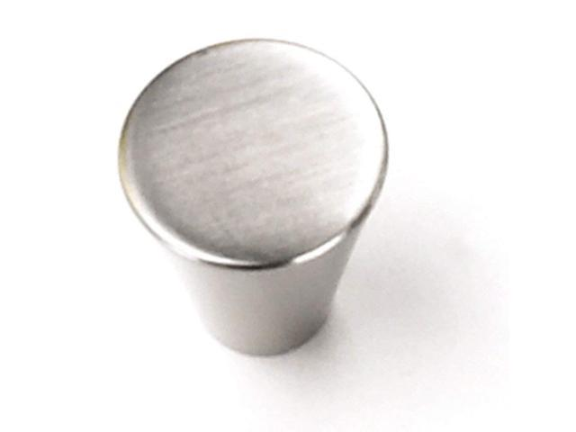 Laurey 26059 Cabinet Hardware 3/4-Inch Small Cone, Brushed
