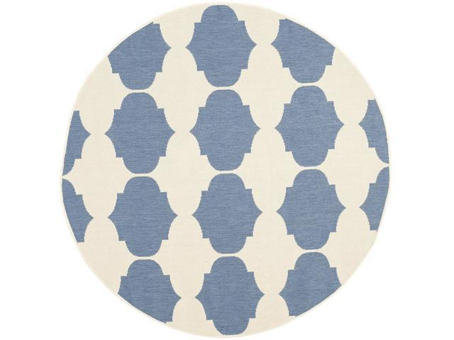 Safavieh Courtyard Collection Cy6162 233 Beige And Blue