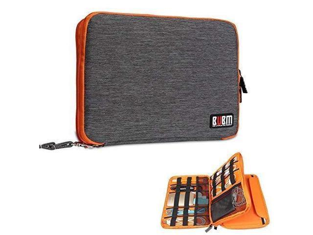 the latest 85e97 d8be2 Travel Cable Organizer Case, Waterproof Electronics Accessories Storage  Bag, Double-Layer Travel Gear Organizer Case for Cord, Phone, Charger,  Power ...