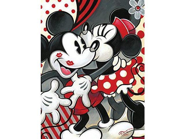 Ceaco Disney Mickey Mania Hugs & Kisses Puzzle (550 Piece) - Newegg com