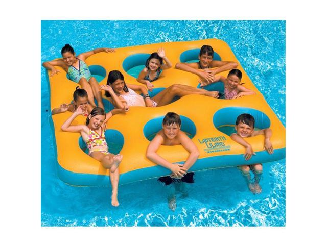 Swimline Labyrinth Island Inflatable Pool Toy - Newegg.com