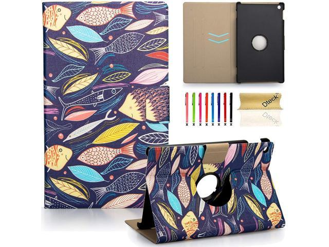 Dteck 360 Degree Rotating Case for Amazon Kindle Fire 7