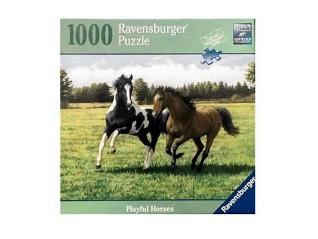 Ravensburger Playful Horses 1000 Piece Puzzle - Newegg com