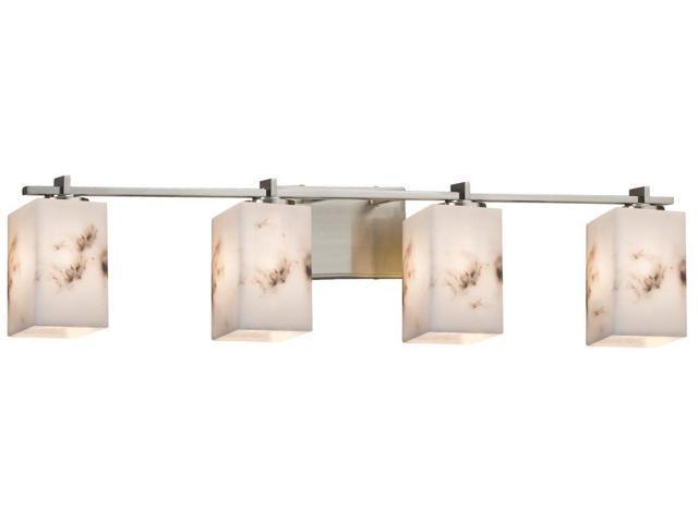 Justice Design Group Lighting Fal 8444 15 Nckl Lumenaria Era 4 Light Bath Bar Brushed Nickel Newegg