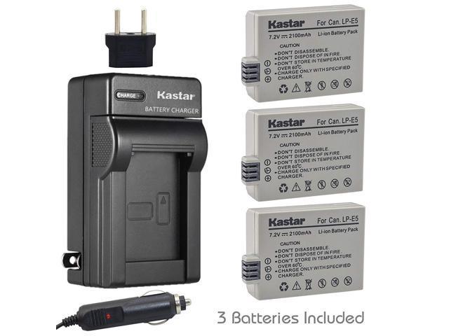Canon LC-E5E LP-E5 Battery Charger for EOS 450D EOS 500D 1000D