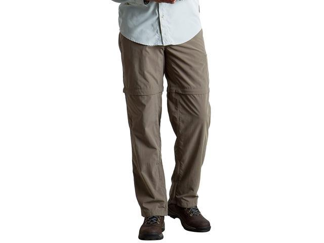 4bb159f9 ExOfficio Men's BugsAway Sol Cool Ampario Convertible Hiking Pants, Falcon,  Size 32 - Newegg.com