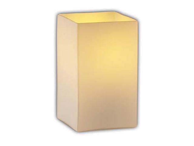 Sabre 1-Light Wall Sconce Square with Flat Rim Shade Justice Design Group Lighting FAB-8791-15-CREM-MBLK Textile Cream Matte Black