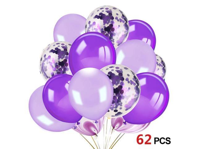"""Party Decor 12/"""" Colorful Confetti Balloons For Birthday Wedding Baby Shower Sl"""