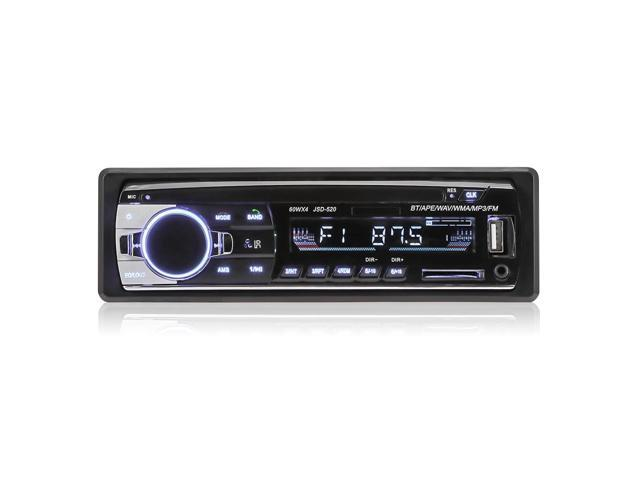 JSD - 520 Car MP3 Player Bluetooth 2 0 FM Radio Stereo Receiver - Newegg com