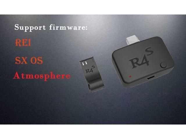 New R4 R4I R4S Dongle Type-C Flash Card Adapter Kit Plug and Play for  Switch, Support ReiNX Atmosphere SX OS Firmware - Newegg com