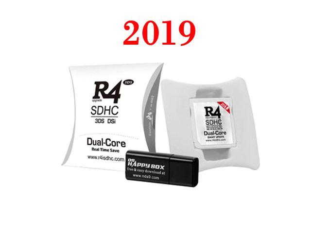 2019 R4 R4i White Dual Core Flash Card Adapter for DS 2DS New 3DS XL  V1 0-11 9 - Newegg com