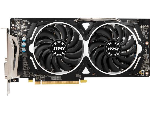 MSI Radeon RX 580 MINER 8G Mining Card, 8GB 256-bit GDDR5, PCI-E 3 0 x16,  DVI-D - Newegg com