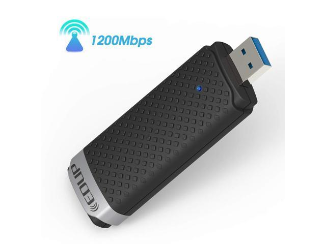 1200Mbps USB 3.0 Dual Band Realtek EP-AC1617 WiFi Adapter Antenna For PC Macbook