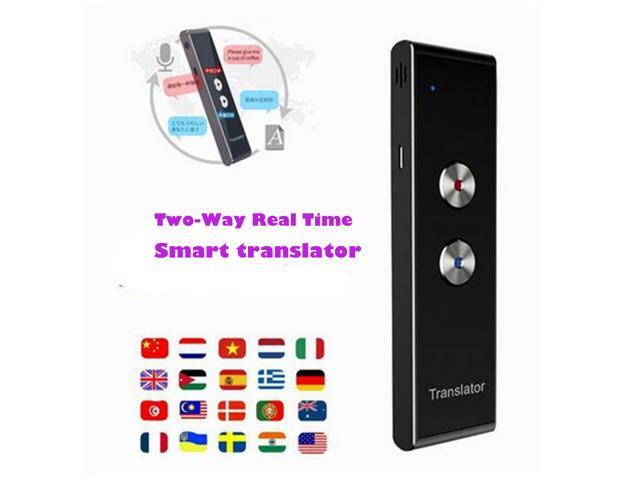 Multi-Languages Translator Instant Voice Portable Smart Two-Way Real Time 70