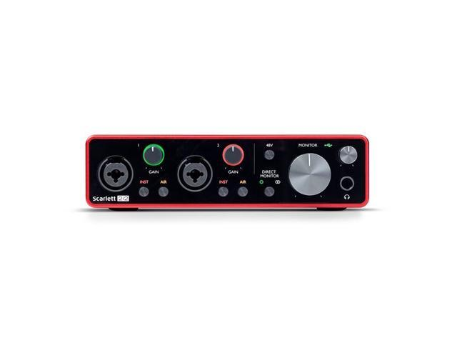 Focusrite Scarlett 2i2 3rd Generation Audio Interface - Newegg com