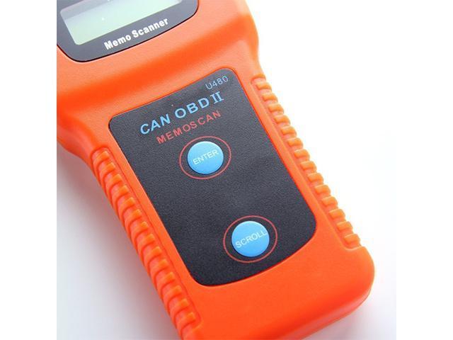 XTOOL U480 CAN OBD2 OBD II Car Diagnostic Scanner Engine Code Reader Tool -  Newegg com