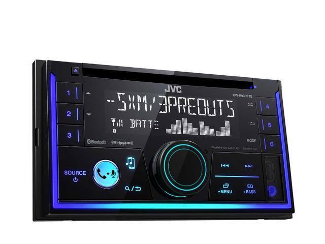 JVC KW-R930BTS 2-Din In-Dash Car Stereo CD Player w//Bluetooth//USB//iPhone//Sirius